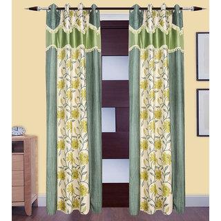 JMT Set of 2 Designer Door Curtain HZCN0700754