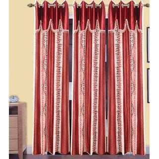 JMT Set of 3 Designer Door Curtain HZCN0700826
