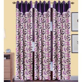 JMT Set of 3 Designer Door Curtain HZCN0700965