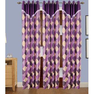JMT Set of 3 Designer Door Curtain HZCN0701055