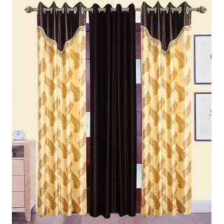 JMT Set of 3 Designer Door Curtain HZCN0702058