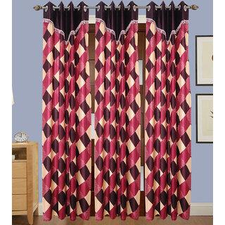 JMT Set of 3 Designer Door Curtain HZCN0701071