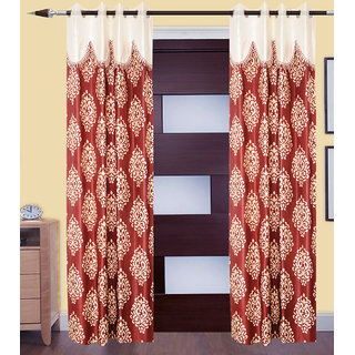 JMT Set of 2 Designer Door Curtain HZCN0700774