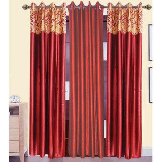 JMT Set of 3 Designer Door Curtain HZCN0702122