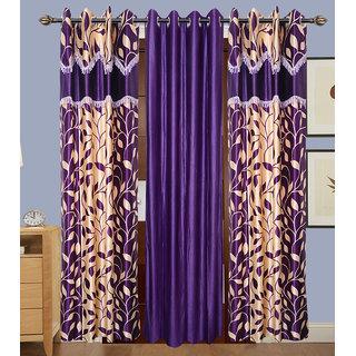 JMT Set of 3 Designer Door Curtain HZCN0702263