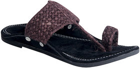 Panahi Men's Brown Ethnic Sandal