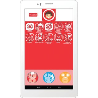 Micromax Canvas Tabby P469 3G Calling Tablet - White