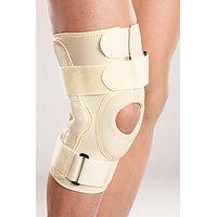 Hinged Knee Brace Support Neoprene Knee Cap Sports Acl Arthritis-XL