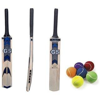 Tennis Ball Cricket Bat with Free Tennis Ball