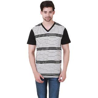 Cherymoya MensDesigner Cotton Black Jersey T-Shirt (CM-1500116)