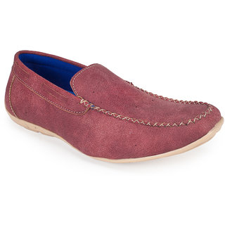 cb6bb4865c8 Buy Khadims Lazard Red Loafer Shoe Online   ₹999 from ShopClues