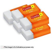 Camlin All Clear Eraser  5 pc pouch- Set of 5 (pack of 30)
