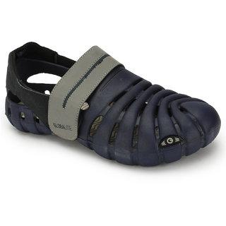 3847b2bb9eeb Buy Globalite Mens Black Grey Velcro Sandals Online   ₹999 from ...