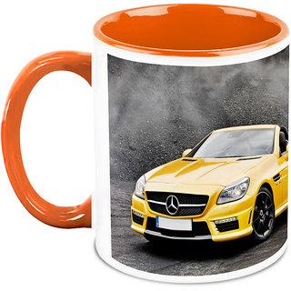 Homesogood The Two Desired Automobile I Need White Ceramic Coffee Mug - 325 Ml