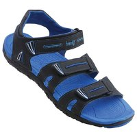 Vkc Men's Blue Velcro Sandals
