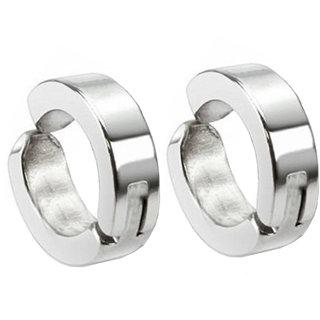 Men Style Hoop Earrings Non-piercing Clip on Earrings Unisex Men Women Boys