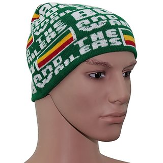 Sushito Green Marley Unisex Wollen Cap JSMFHCP1410