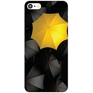 I Phone 5C Yellow Umbrella