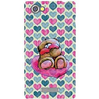 Sony Xperia M Teddy Love