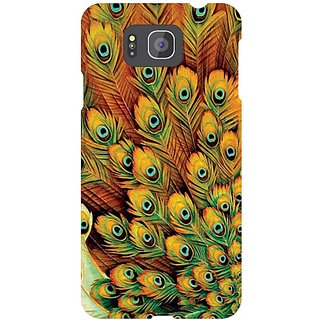 Samsung Galaxy Alpha G 850 Peacock Feathered