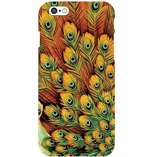 I Phone 6 Peacock Feathered