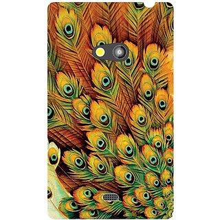 Nokia Lumia 625 Peacock Feathered