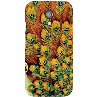 Moto G 2nd Gen Peacock Feathered