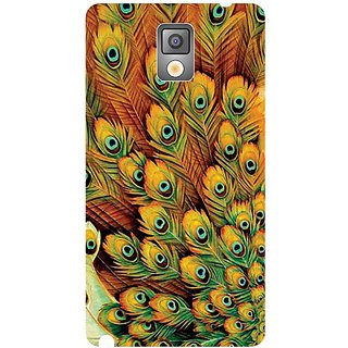 Samsung Galaxy Note 3 Peacock Feathered