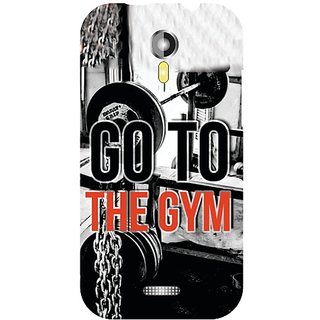 Micromax A117 Canvas Magnus Go To Gym