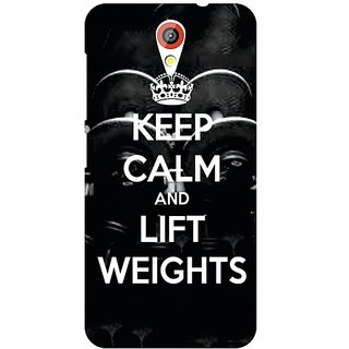 HTC Desire 620 Keep Calm  Lift Weights