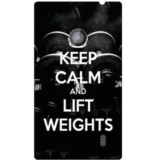 Nokia Lumia 520 Keep Calm  Lift Weights