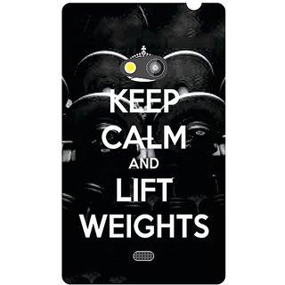 Nokia Lumia 625 Keep Calm  Lift Weights