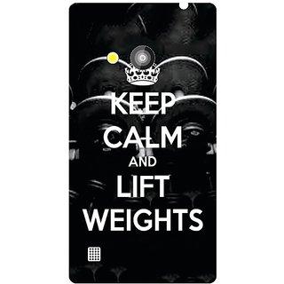 Nokia Lumia 720 Keep Calm  Lift Weights