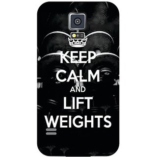 Samsung Galaxy S5 Keep Calm  Lift Weights