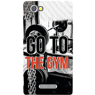 Sony Xperia M Go To Gym