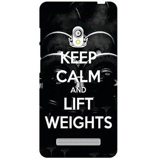 Asus Zenfone 5 A501CG Keep Calm  Lift Weights