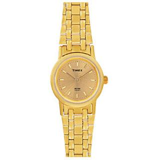 Timex Analog Gold Dial Womens Watch - B304