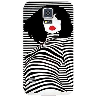 Samsung Galaxy S5 Charming Girl
