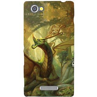 Sony Xperia M Fantacy Dragon