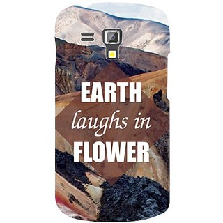 Samsung Galaxy S Duos 7562 Earth Laughs In Flower