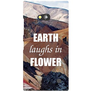 Nokia Lumia 730 Earth Laughs In Flower