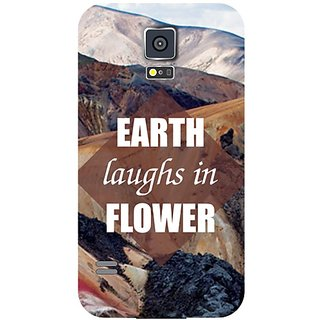 Samsung Galaxy S5 Earth Laughs In Flower