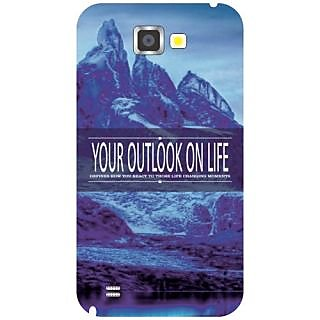 Samsung Galaxy Note 2 Your Outlook On Life