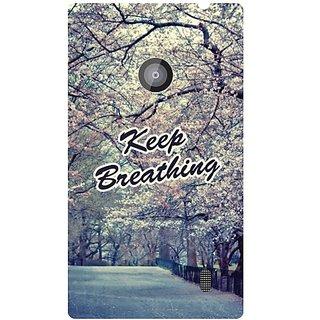 Nokia Lumia 520 Keep Breathing