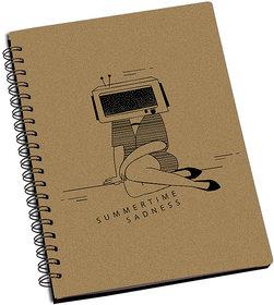 Shopmantra Summertime Sadness Designer Spiral Notebook Pack Of 2