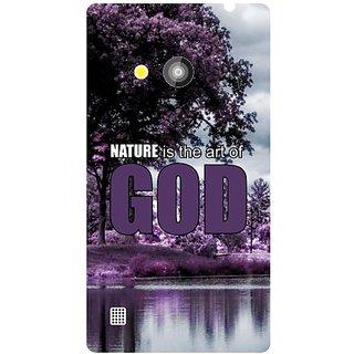Nokia Lumia 720 Nature God