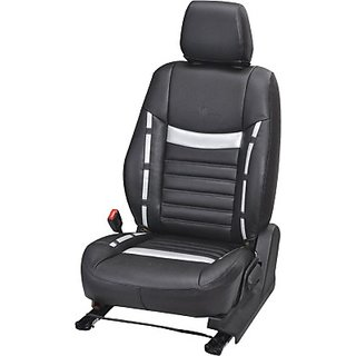 KVD Autozone Leatherette Car Seat Cover For Maruti SwiftWith Back Arm Rest