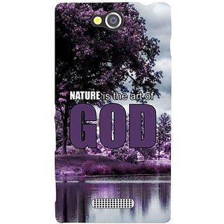 Sony Xperia C Nature God