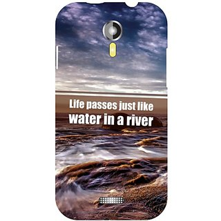 Micromax A 117 Water in a River