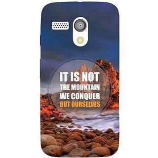 Moto G We Conquer